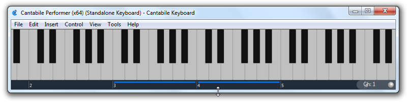 Using Cantabile as a Standlone Onscreen Keyboard