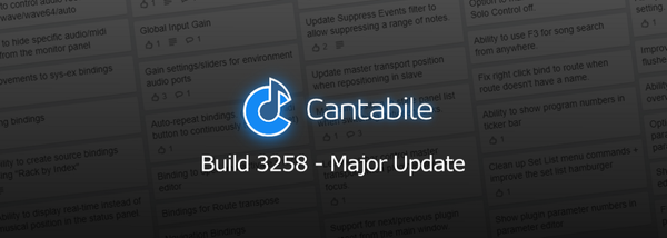 Build 3258 — Major Update